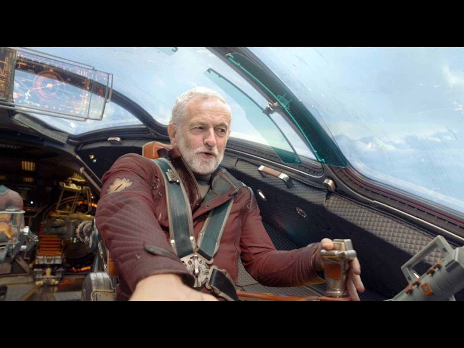 Jeremy Corbyn - Guardian of the Galaxy