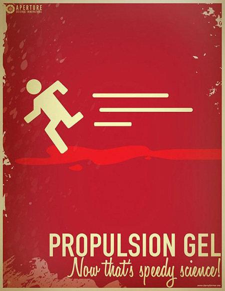 Propulsion gel