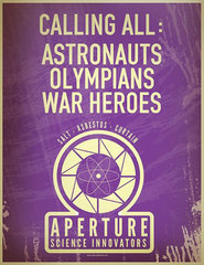 Calling all: astronauts, olympians, war heroes