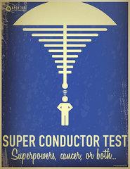 Super conductor test