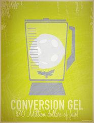 Conversion gel