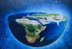 Earth is really a bowl