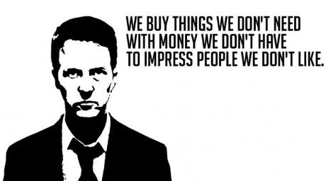 We buy things we don't need...
