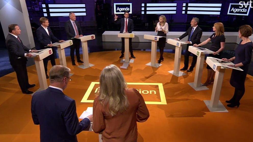 Vad är det med SVTs oförmåga att få till en riktig politisk debatt om klimatet i sina partiledardebatter?