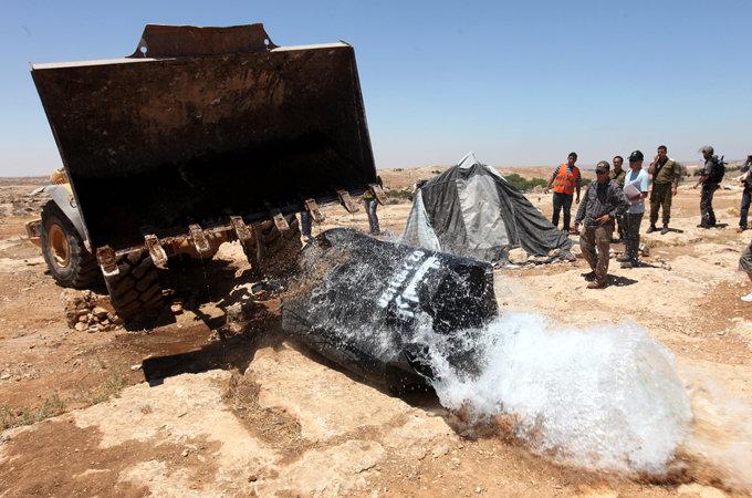 Vattenkonflikten mellan Israel och Palestina