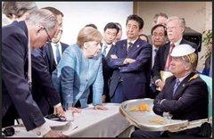 G7 lunch break