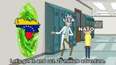 USA and NATO be like